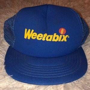 Retro weetabix trucker hat.